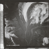 Alaska Range, aerial photograph FL 68 V-53, Alaska