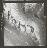 Unknown glaciers near Chinitna Bay, aerial photograph FL 72 V-18, Alaska