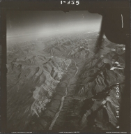 Glaciers in Brooks Range, aerial photograph FL 78 R-17, Alaska