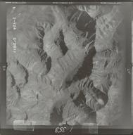 Glaciers in Brooks Range, aerial photograph FL 78 V-24, Alaska