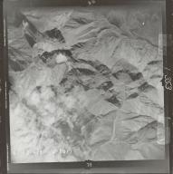 Glaciers in Brooks Range, aerial photograph FL 78 V-29, Alaska