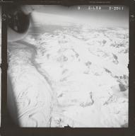 West Fork Glacier, aerial photograph FL 80 L-53, Alaska