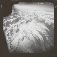 North of Mount Deborah, aerial photograph FL 80 L-66, Alaska