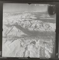 Maclaren Glacier, aerial photograph FL 80 R-41, Alaska