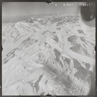 Susitna Glacier, aerial photograph FL 80 R-49, Alaska