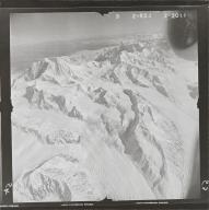 West Fork Glacier, aerial photograph FL 80 R-53, Alaska