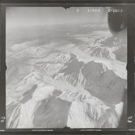 Hayes Glacier, aerial photograph FL 80 R-59, Alaska