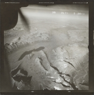 Upnuk Lake, aerial photograph FL 83 L-71, Alaska