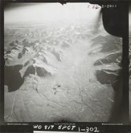 Glacier in southwestern Alaska Range, aerial photograph FL 83 R-62, Alaska