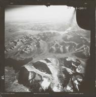 Glacier in southwestern Alaska Range, aerial photograph FL 83 R-71, Alaska