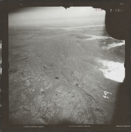 Glacier in southwestern Alaska Range, aerial photograph FL 83 R-78, Alaska