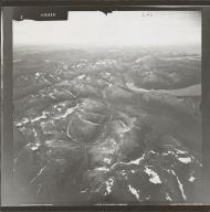Unknown glaciers near Nuyakuk Lake, aerial photograph FL 84 L-46, Alaska