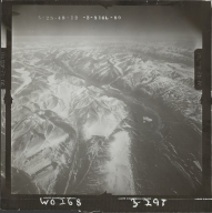 Mount Michelson, aerial photograph FL 102 L-89, Alaska