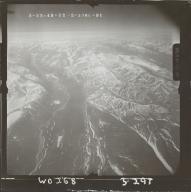 Mount Michelson, aerial photograph FL 102 L-91, Alaska