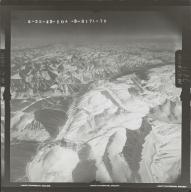 Unknown glacier near McCall Glacier, aerial photograph FL 103 L-70, Alaska