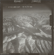 Unknown glacier near Canning River, aerial photograph FL 103 L-81, Alaska