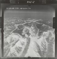 Mount Chamberlin, aerial photograph FL 103 R-76, Alaska