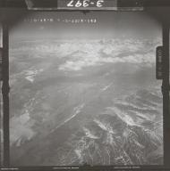 West Fork Glacier, aerial photograph FL 108 R-143, Alaska