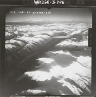 At head of Johnson River, aerial photograph FL 116 R-118, Alaska