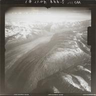 "Unknown glacier (""Big Glacier"") south of Mount Russell, aerial photograph FL 118 R-108, Alaska"