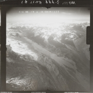 Mountains near Mount Dall, aerial photograph FL 118 R-113, Alaska