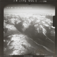 At head of Skwentna River, aerial photograph FL 118 R-122, Alaska