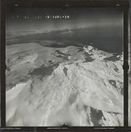 Glacier near Mount Douglas, aerial photograph FL 90 R-14, Alaska