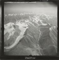 Esetuk Glacier, aerial photograph M 144 1022RT, Alaska