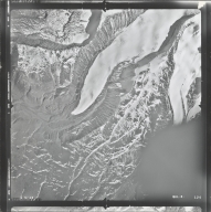 Mount Sanford, aerial photograph GUL 8-124, Alaska