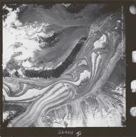 Susitna Glacier, aerial photograph M 860 157, Alaska