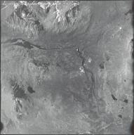 Delta River source, aerial photograph M 860 205, Alaska