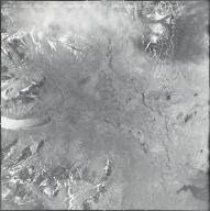 Mount Hayes area, aerial photograph M 860 207, Alaska