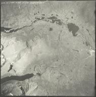 Mount Hayes area, aerial photograph M 860 253, Alaska