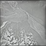 Dall Glacier and Yentna Glacier, aerial photograph M 628 0154, Alaska