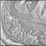 Ruth Glacier, aerial photograph M 655 0256, Alaska