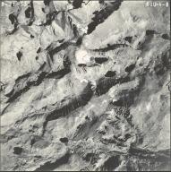 Cloud Peak Glacier, aerial photograph DUU-4-8, Wyoming