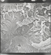 Buckskin Glacier, aerial photograph M 128B 55, Alaska