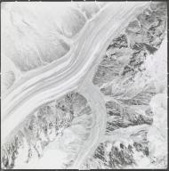 Johnson Glacier, aerial photograph 4G11 147, Alaska