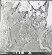 Gakona Glacier, aerial photograph 4H34 10, Alaska