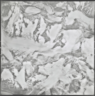 Chistochina Glacier, aerial photograph M 4F5 178, Alaska
