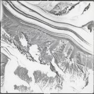 Eldridge Glacier, aerial photograph M4 G13 31, Alaska