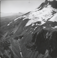 Whitewater Glacier, aerial photograph roll no. 21 exposure no. 39, Oregon