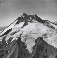 Whitewater Glacier, aerial photograph roll no. 21 exposure no. 37, Oregon