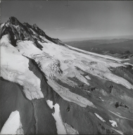 Whitewater Glacier, aerial photograph roll no. 20 exposure no. 40, Oregon