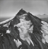 Jefferson Park Glacier, aerial photograph roll no. 21 exposure no. 49, Oregon