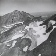 Renfrew Glacier, aerial photograph roll no. 21 exposure 63, Oregon