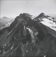 North Sister, aerial photograph roll no. 21 exposure no. 69, Oregon
