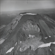 South Sister, aerial photograph roll no. 21 exposure no. 84, Oregon