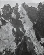 """Terror Glacier and unknown glacier (""""MacMillan Glacier""""), Washington"""