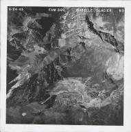 Isabelle Glacier, aerial photograph FAM 3120 83, Colorado